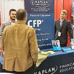 Kaplan Professional Education - St. Thomas CFP Program booth