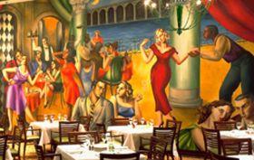 Mural Room - Pazzaluna Urban Italian Restaurant & Bar